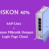 DIskon 40 % Promo Hap lite 2 + Custom Mikrotik Hotspot Login Page Cloud